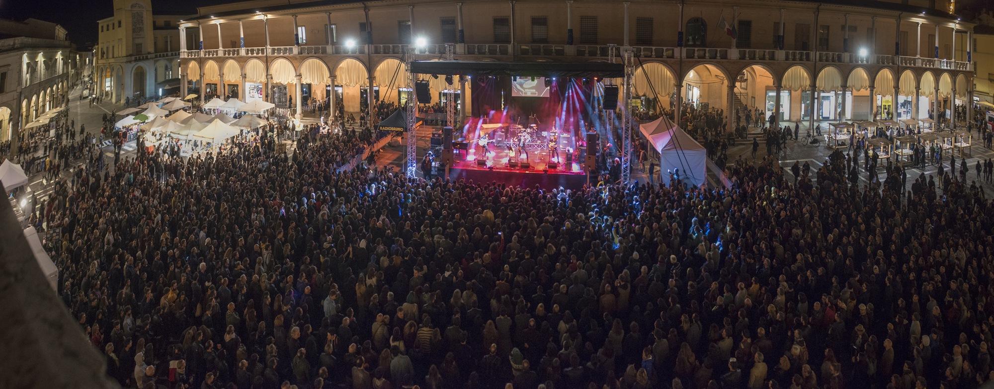 il palco principale del MEI 25 a Faenza